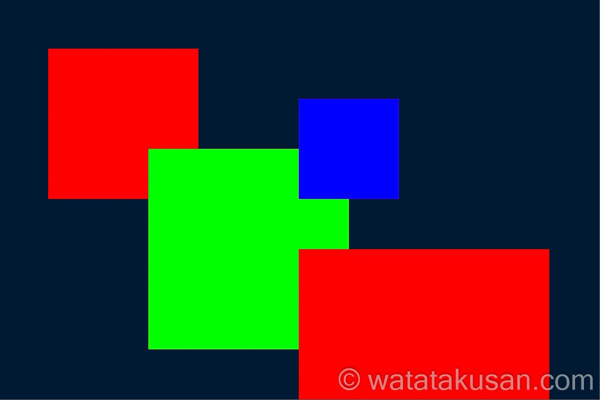 作品29 赤と緑と青のタイル