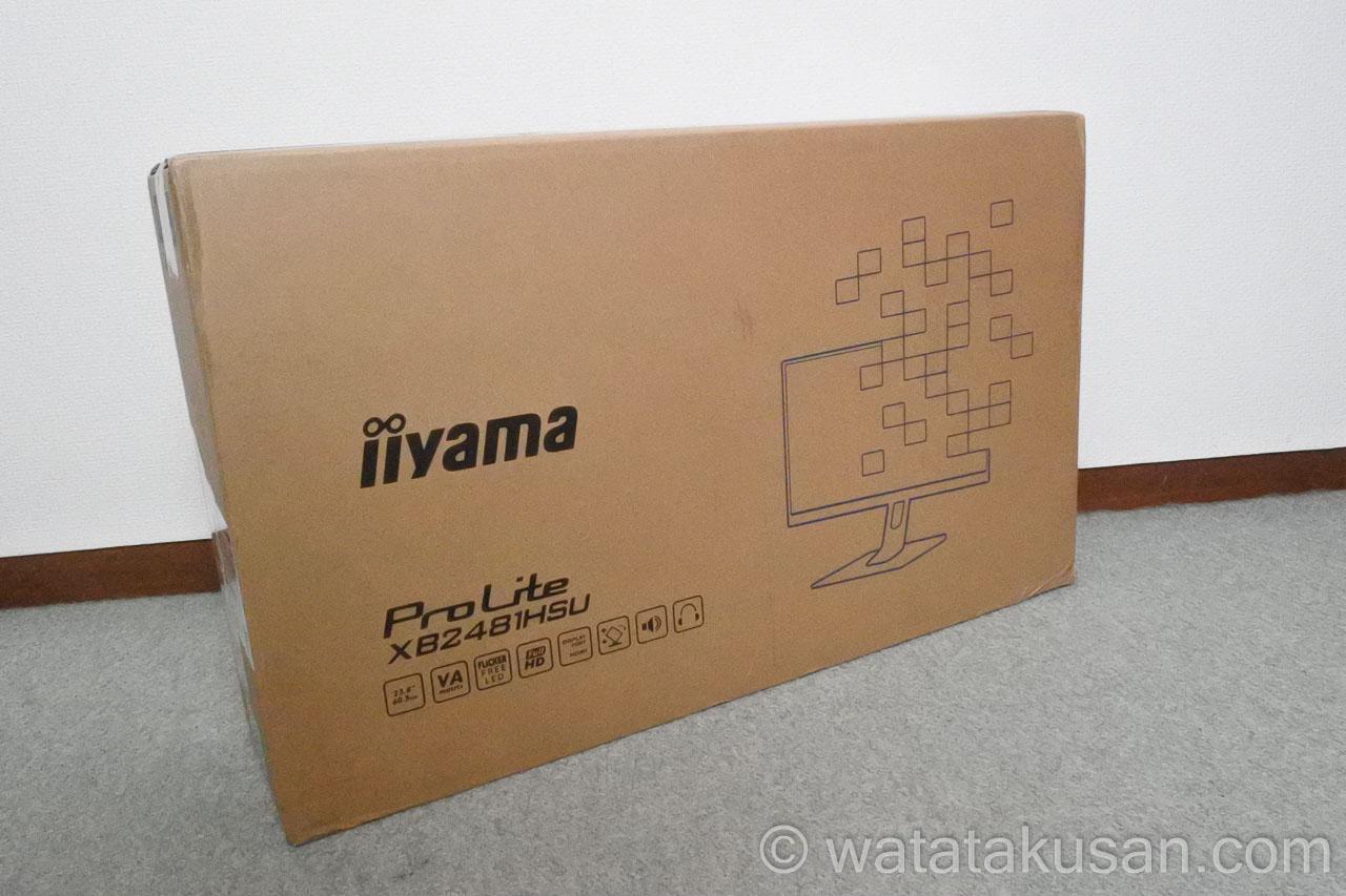 iiyamaモニターの評価【ProLite XB2481HSU】