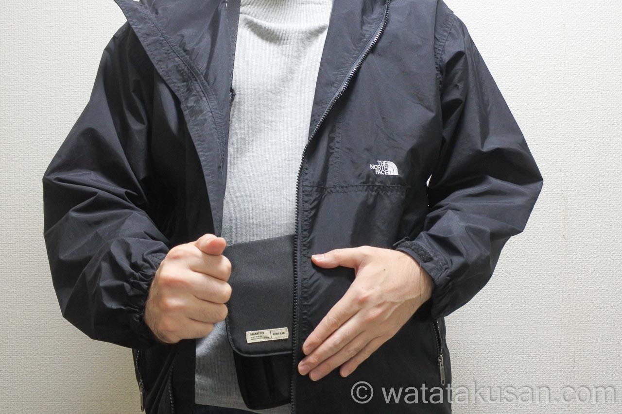 リヒトラブキャリングポーチスマートフィットA6をつけていて雨が降ってきた時の対策